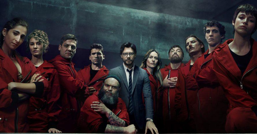 La Casa de Papel é renovada para a quarta temporada na Netflix