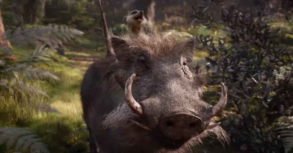 Resultado de imagem para o rei leão timão e pumba 2019