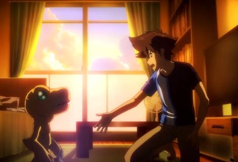 Filme de Digimon mostra imagem com os heróis originais adultos