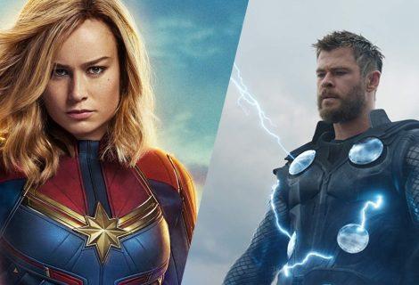Capitã Marvel é mais poderosa que Thor, sugerem diretores de Ultimato