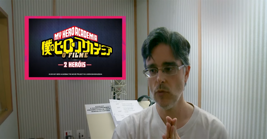 Guilherme Briggs dublará All Might em My Hero Academia: 2 Heróis