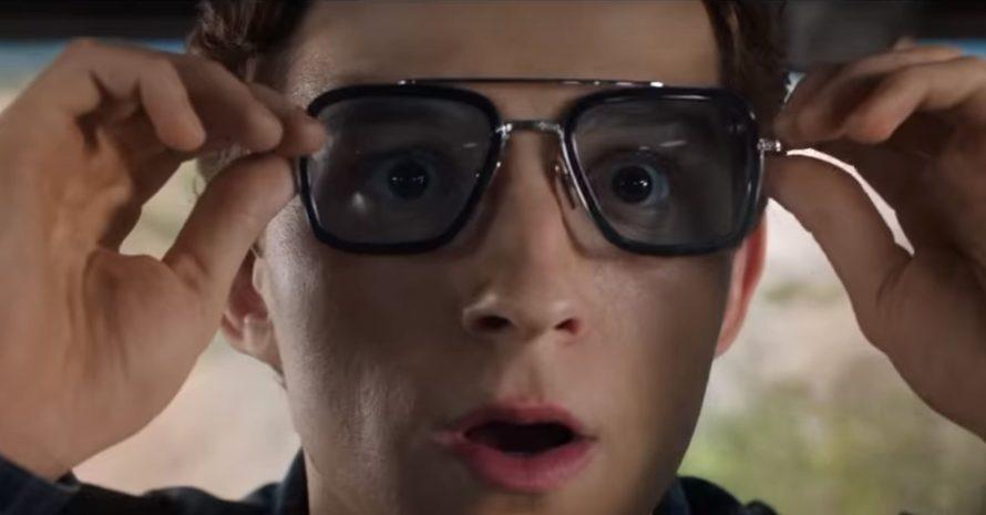 O perigo dos óculos de Tony Stark em Homem-Aranha: Longe de Casa