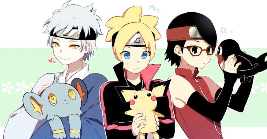 Anime de Pokémon faz referência a Boruto: Naruto Next Generations