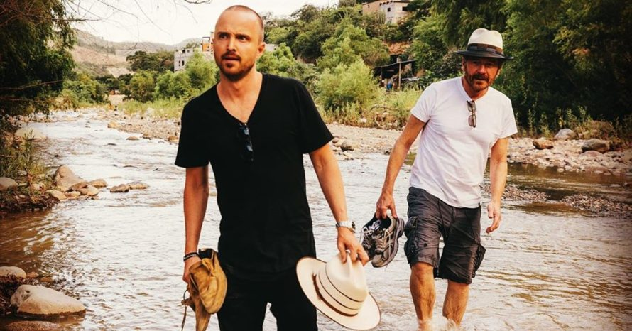 Breaking Bad: Bryan Cranston e Aaron Paul voltam a postar foto juntos