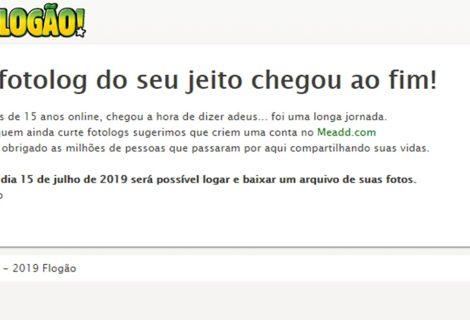 Flogão: sobrevivente da internet brasileira chega ao fim após 15 anos