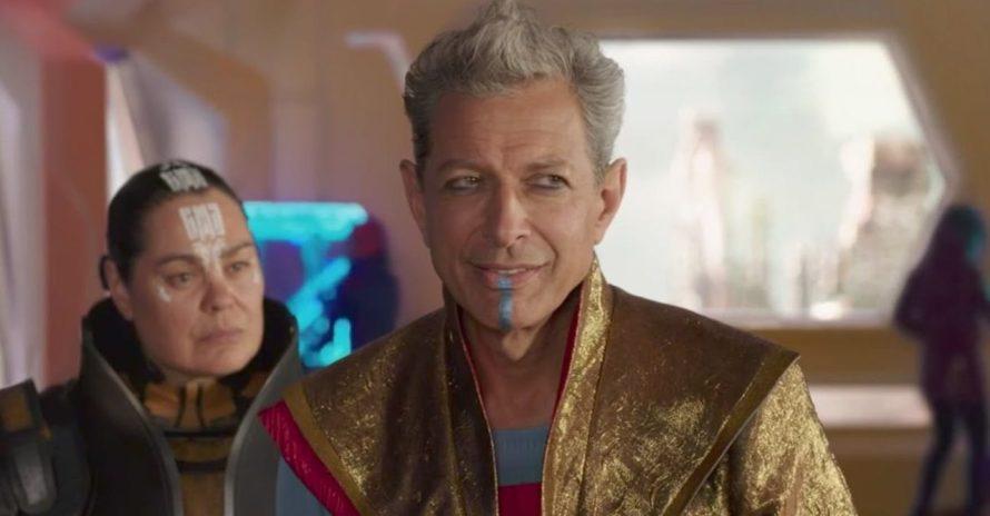 Jeff Goldblum indica retorno do Grão-Mestre em Thor: Love and Thunder