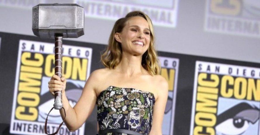 Natalie Portman explica por que Jane Foster ficou fora de Thor: Ragnarok