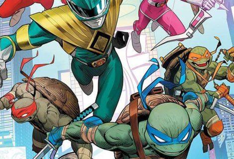 Crossover entre Power Rangers e Tartarugas Ninjas é anunciado