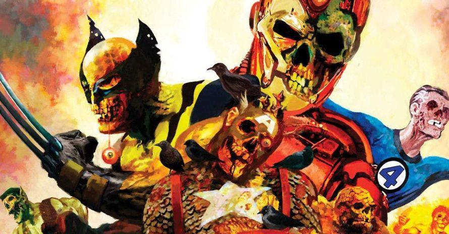Zumbis Marvel: saga de heróis mortos-vivos voltará aos quadrinhos