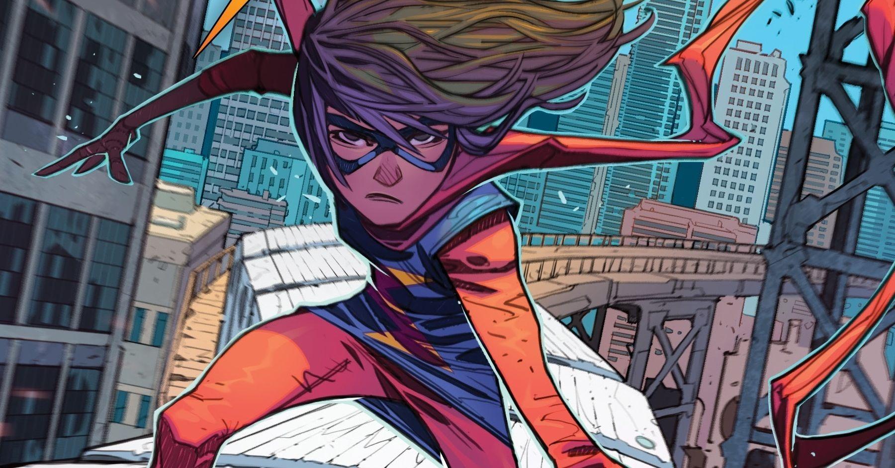 Ms Marvel poderes capa