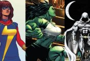 Disney+ confirma séries de Ms. Marvel, She-Hulk e Cavaleiro da Lua
