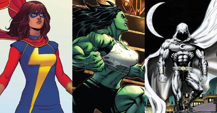 Disney+ confirma séries de Ms. Marvel, She-Hulk e Cavaleiro da Lua