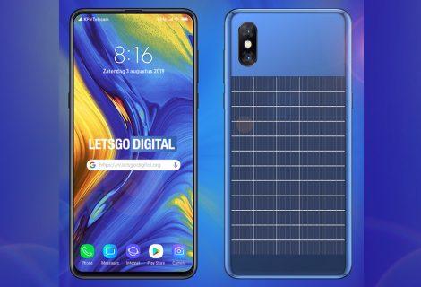Xiaomi registra patente de smartphone com painel solar
