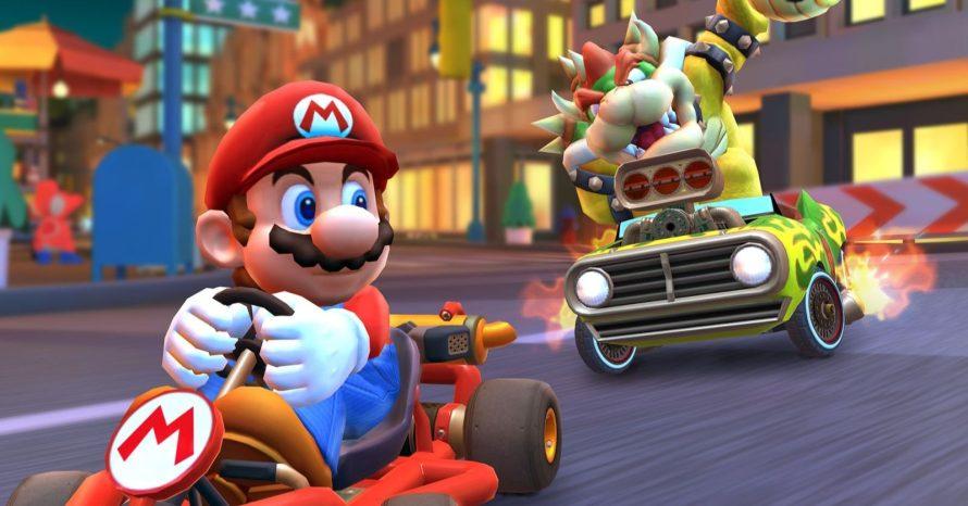 Mario Kart Tour passa a contar com modo multiplayer online