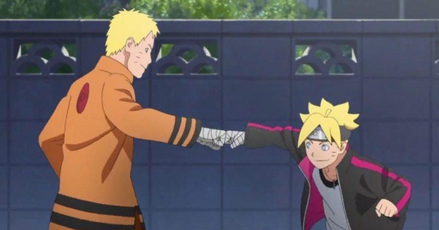Boruto é atacado por Naruto e aprende sobre infância difícil do pai