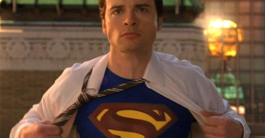 É oficial: Tom Wellling, de Smallville, fará Superman em Crise nas Infinitas Terras