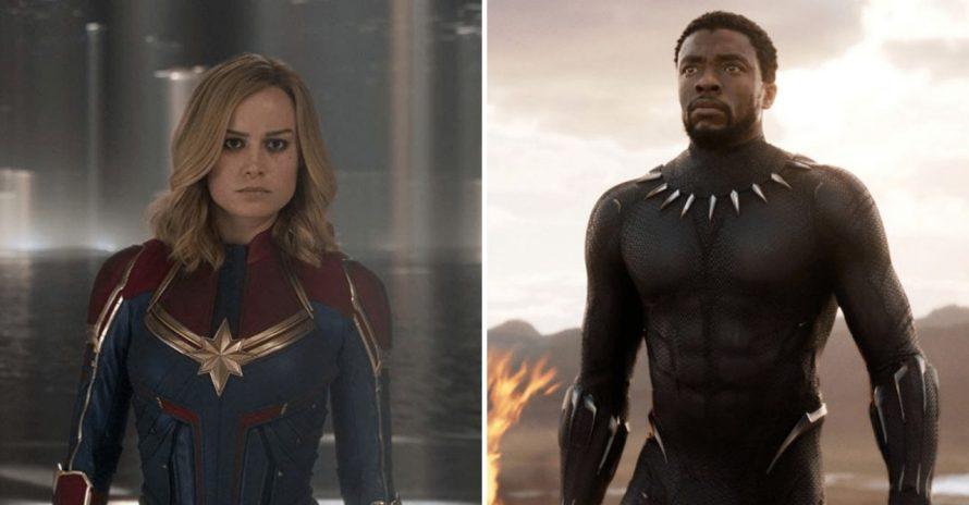 Executivo da Marvel não queria filmes de Pantera Negra e Capitã Marvel