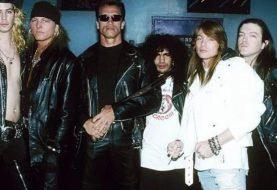 A curiosa relação do Guns N' Roses com o Exterminador do Futuro