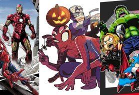 Veja as primeiras artes conceituais dos novos mangás da Marvel