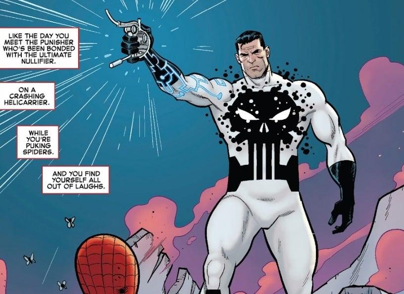 Justiceiro pega o Nulificador Total e vira o ser mais poderoso da Marvel
