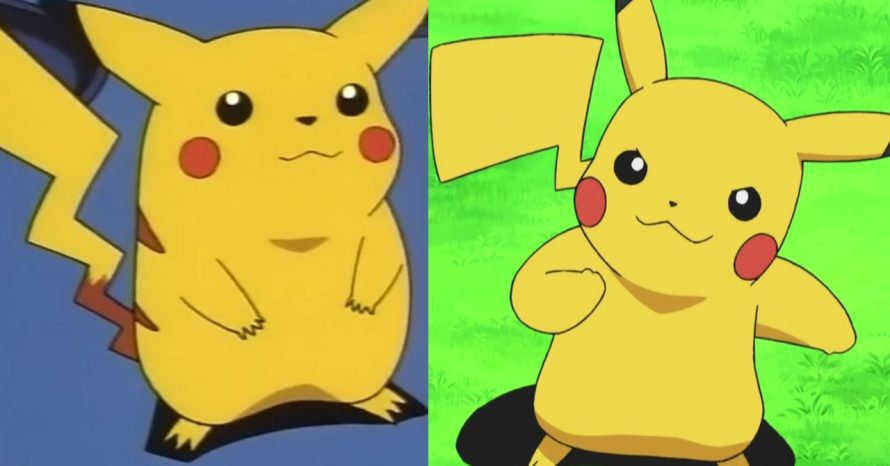 Pikachu mudou ao longo dos anos – e a ciência explica o motivo