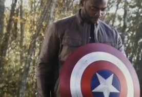 Anthony Mackie, o Falcão, viu escudo do Capitão América no set de WandaVision