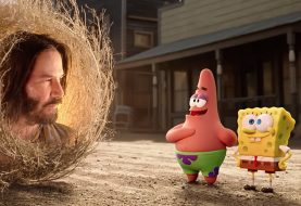 Keanu Reeves é destaque no 1º trailer do novo filme de Bob Esponja