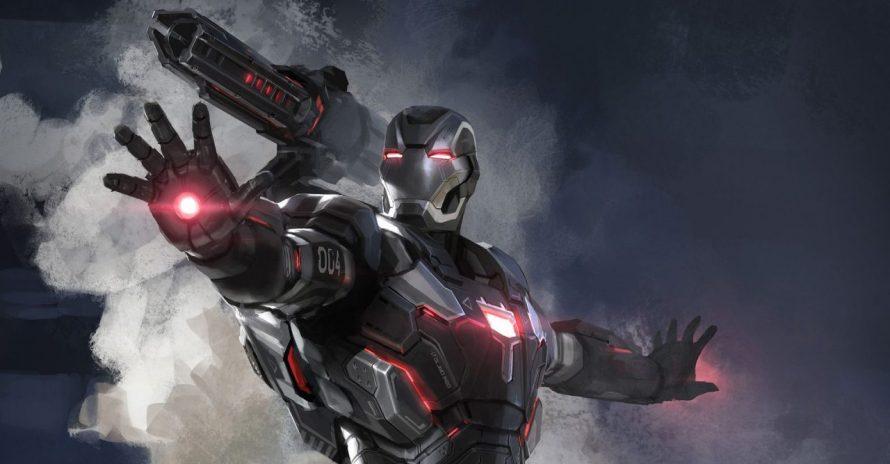 Máquina de Combate quase teve 3 armaduras em Vingadores: Ultimato