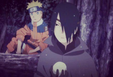 Boruto: Naruto jovem e Sasuke protagonizam cena emocionante no anime