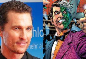 The Batman: Matthew McConaughey pode interpretar o vilão Duas-Caras