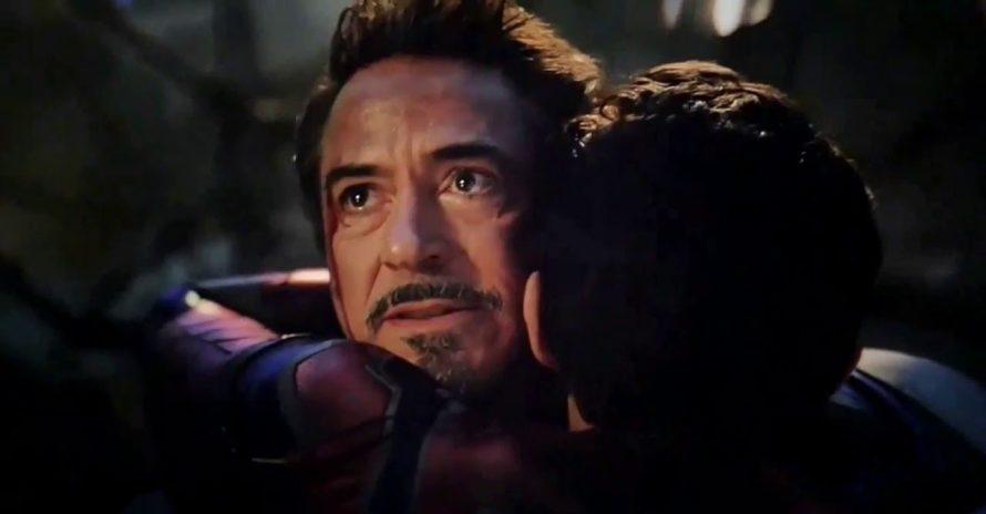 Reencontro de Tony Stark e Peter Parker em Ultimato seria bem diferente