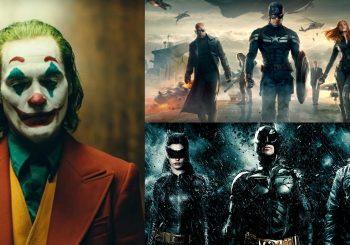 Os melhores filmes de Marvel e DC lançados nesta década