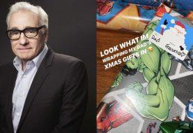 Martin Scorsese ganha presentes da filha embrulhados com papel da Marvel
