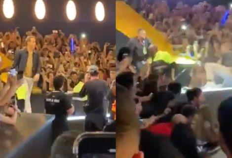 Ryan Reynolds cai na CCXP após barreira de proteção se romper; veja vídeos