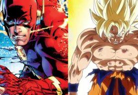Nova HQ do Flash tem referência aos saiyajins de Dragon Ball