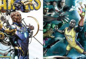 Kobe Bryant já foi o Homem de Ferro e usou Manopla do Infinito em série da Marvel