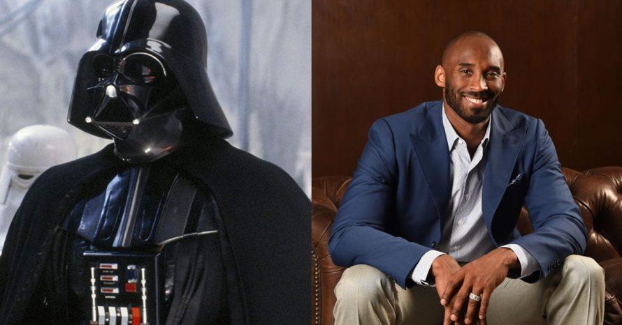 Marcha Imperial, androide e mais: as ligações de Kobe Bryant com Star Wars