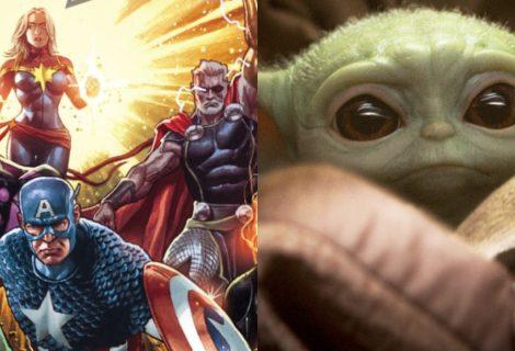 Nova HQ faz Vingadores terem sua versão do Baby Yoda; entenda