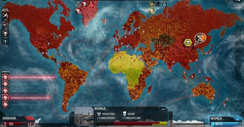 coronavírus plague inc