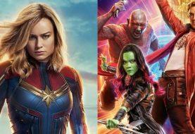 Capitã Marvel e Guardiões da Galáxia jamais se encontraram, diz James Gunn