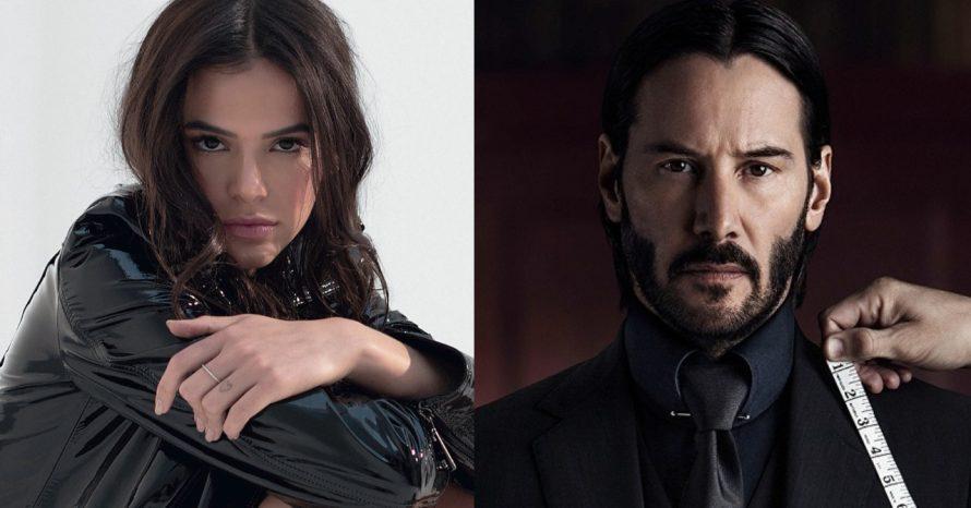 Keanu Reeves e Bruna Marquezine estão gravando série da Netflix, diz site