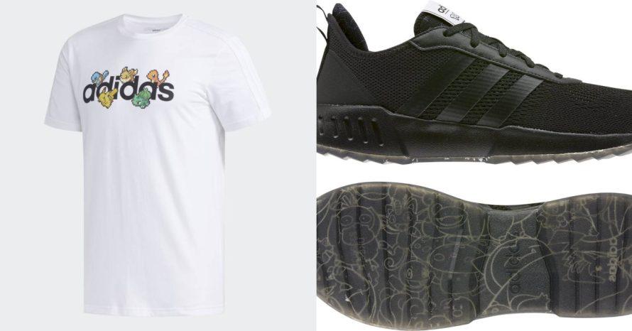 Pokémon ganha coleção de tênis e camisetas produzidos pela Adidas