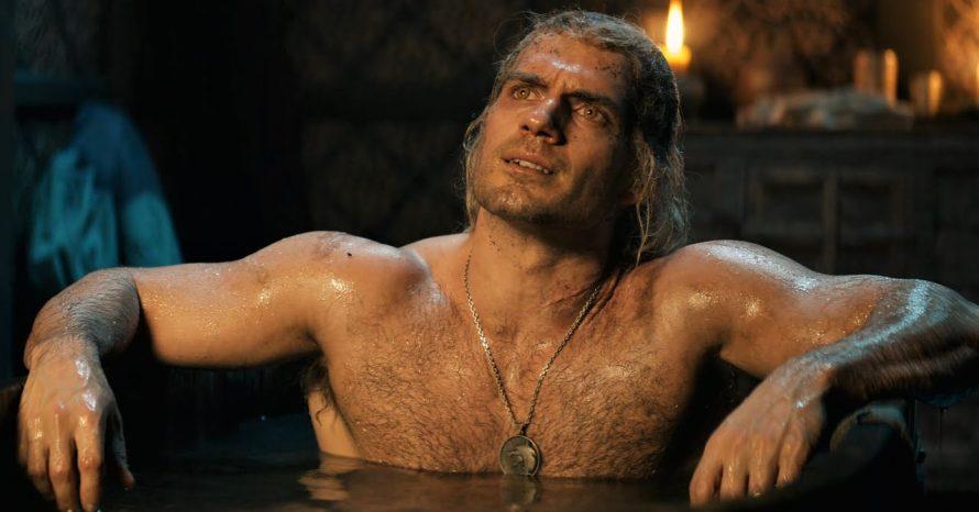 The Witcher: Henry Cavill tentou reproduzir cena da banheira igual ao game