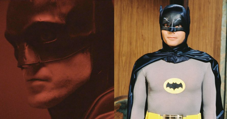 Fãs comparam visual do Batman de Robert Pattinson ao de Adam West nos anos 60