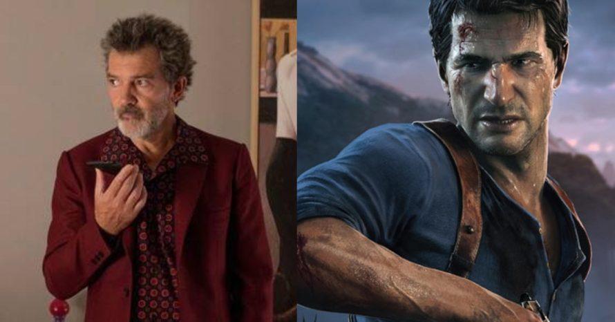 Antonio Banderas se junta ao elenco do filme de Uncharted