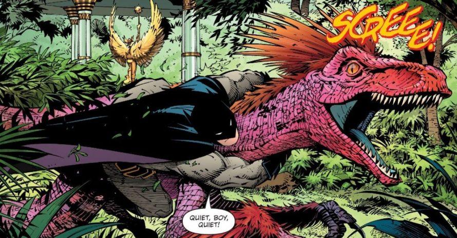 Batman ganha versão dinossauro em nova história da DC