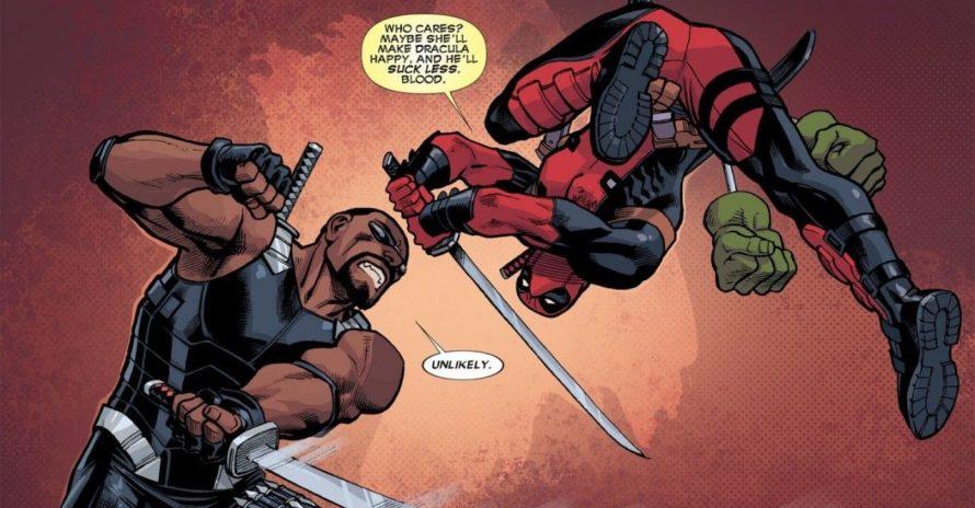Deadpool tira um sarro dos filmes do Blade nos quadrinhos