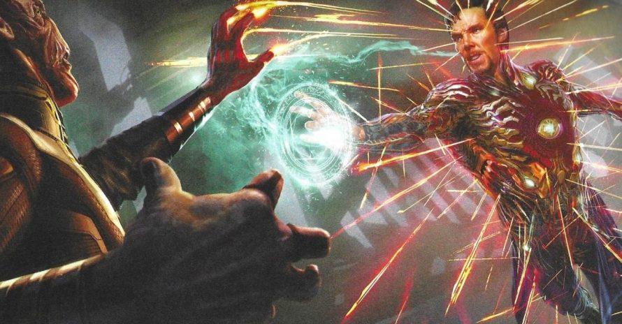 Ultimato: cena do Doutor Estranho com armadura chegou a ser filmada