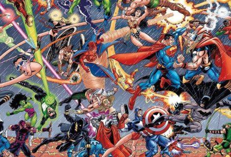 Os principais crossovers entre Marvel e DC nos quadrinhos