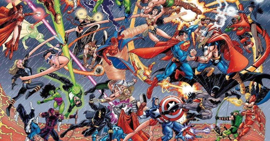 Crossover entre DC e Marvel pode salvar indústria dos quadrinhos?